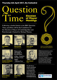 ELy Cathedral hustings