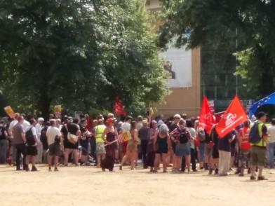 antifascist march 3